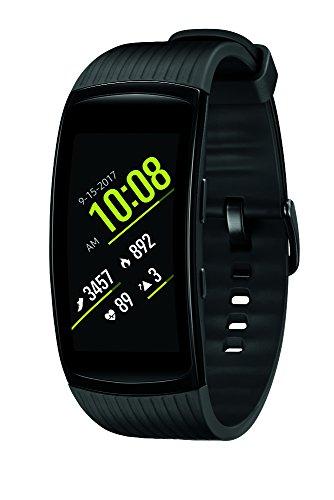 Samsung Gear Fit2 Pro Smart Fitness Band (Large), Liquid Black, SM-R365NZKAXAR
