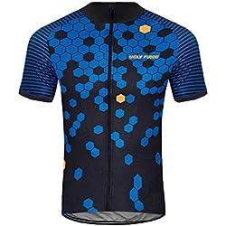 Uglyfrog 2019 Nuevos Diseños Kurzarmtrikot Ciclismo Jersey Hombres Mountain Bike Camiseta Full Zip Bicicleta Camiseta Unidad Extremo Top Road MTB Ropa