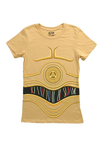 O Fancy dress costume T-Shirt Small (C3po Kostüm Shirt)