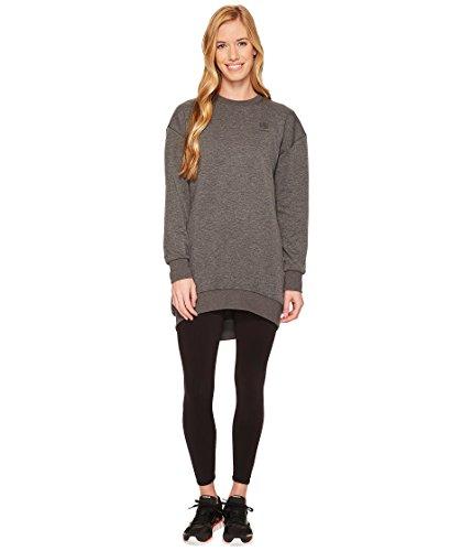 Reebok Damen Oversize Sweatshirt, damen, Dark Grey Heather Frauen Reebok Sweatshirt