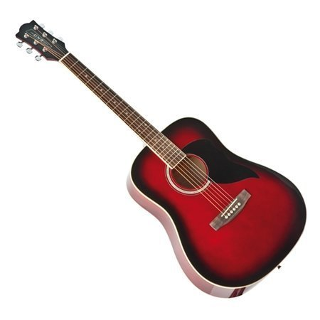 eko-ranger-6-red-sbt-acoustic-classical-folk-guitar-with-fir-top