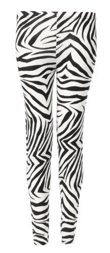 Fast Fashion - Leggings Pleine Longueur Imprimé Animal Tribal - Femme Black