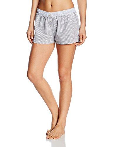 Tommy Hilfiger Underwear Damen Shorts Seersucker Woven, blau XS Damen Seersucker