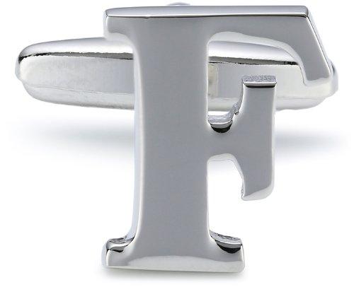 """Teroon Unisex-Manschettenknopf Buchstaben Initialen """"F"""" 608440"""