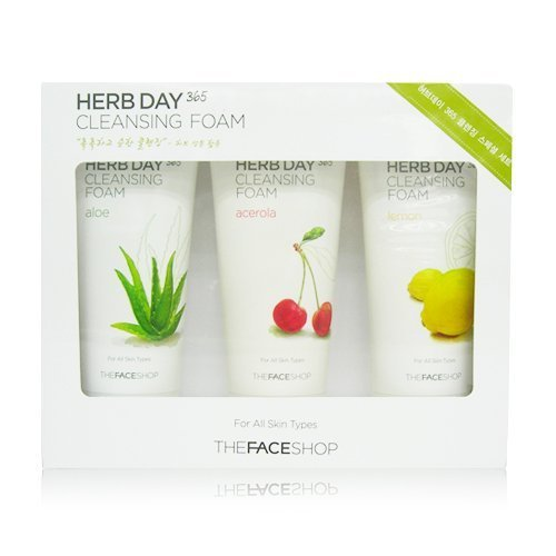 The Face Shop Herb Day 365 Cleansing Foam Special Set by The Face Shop - Face Shop-herb