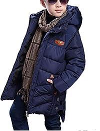 Unisex Kinder Daunenjacke Coat mit Pelzkapuze Gef/ütterte Warme Wintermantel Neugeborenes M/ädchen Jungen Winterjacke Kurz Slim Kids M/äntel Winter Outdoorjacke Mantel Kind Jacke Dicke Jacke