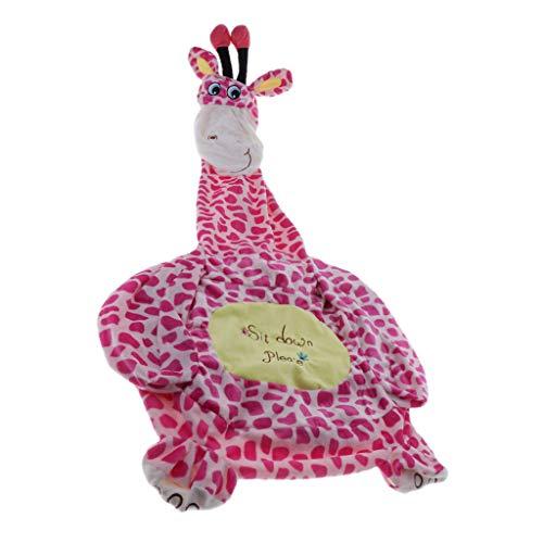 F Fityle Niedliche Sitzsackhülle Sitzsack Sitzkissen Sitzsäcke für Kinderzimmer - Giraffe (Sitz)