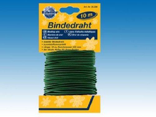Filmer 25.226 Pflanzen / Gemüse Bindedraht - grün gummiummantelt - d= 2,5mm - 10m