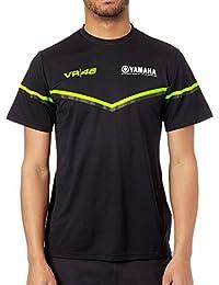 Valentino Rossi Camiseta Yamaha Line Negro
