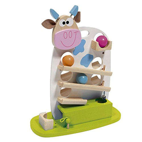 Scratch 6181003 - Kuh Marie, Kugelbahn 3, 38 x 46 x 17.5 cm