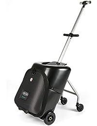8fcb620565816 Micro Trolley Lazy Luggage - fahrbarer Koffer mit Sitz