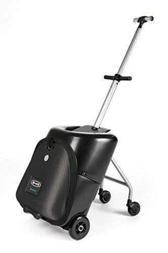 Micro Trolley Lazy Luggage - fahrbarer Koffer mit Sitz