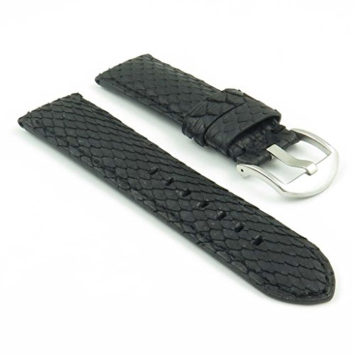 dassari-outlaw-black-python-genuine-snake-skin-panerai-style-watch-band-size-26mm