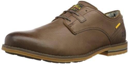 Caterpillar Collins, Chaussures de ville homme - Vert (Peat), 40 EU