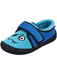 ClarksCuba Rise Inf - Sandalias con cuña para chico , color azul, talla 25 EU