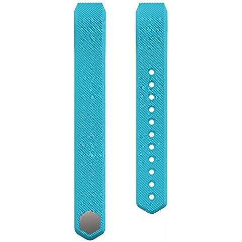 jiastone silicone banda di ricambio per Fitbit Alta intelligente orologio Fitness, Blue, L