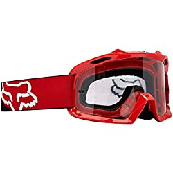 09636-906-OS - Fox Racing Youth Air Space Motocross Goggles Red Clear