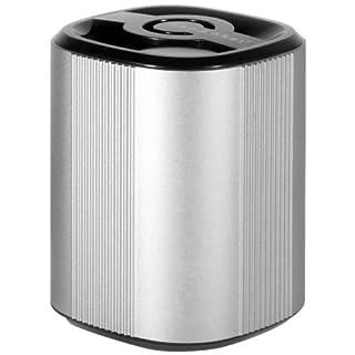 MusicMan BT-X4 Grenade Bluetooth Soundstation Lautsprecher (microSD-Kartenslot, 3,5mm Buchse, 3 Watt, USB) silber