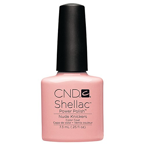 CND Shellac Nude Knickers, 1er Pack (1 x 7,3 ml) (Knickers)