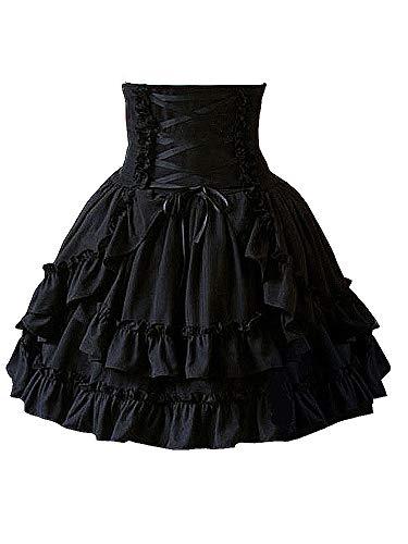 - Plus Size Schwarz Tutu Petticoat