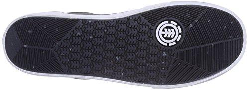 Element Wasso A Herren Skateboardschuhe Grau (STONE GREY 118)