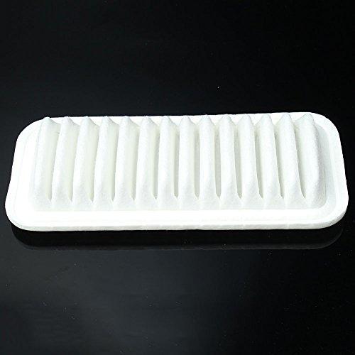 Merssavo Voiture Véhicule Moteur filtre à air Blanc Coton PP pour Toyota 17801-23030 Yaris Daihatsu Sirion
