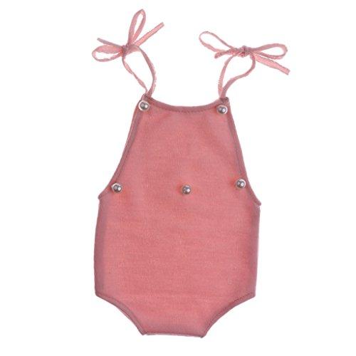 Baoblaze Baby Fotografie Requisiten Jungen Mädchen Fotoshooting Outfits Neugeborenen Häkeln Kostüm für für Baby-Dusche Geburtstag...