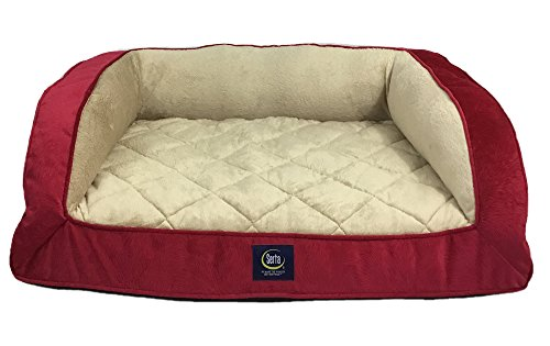 serta-orthopedic-quilted-couch-red