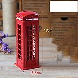 Creative Red Postbox Piggy Bank Artisanat PiggyBank Piggy BankBedroom Maison Décoration Décoration, Banque Squarepiggy