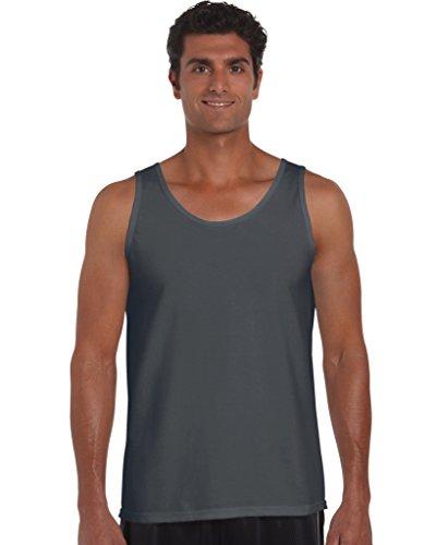 Gildan: Softstyle® Adult Tank Top 64200, Größe:XL;Farbe:Charcoal -