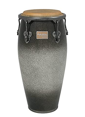Tycoon Percussion MTCP-110BPPF1 Master Platinum Fade Series Quinto, 11-Inch