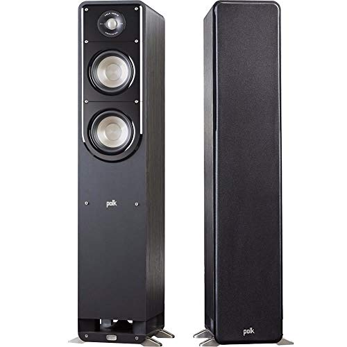 Polk Audio 2X Signature Series S50 Small 2-Way American HiFi Home Theater Tower Speaker (2 Speakers)