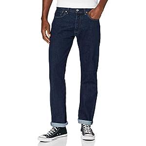 Levi's Men's 501 Original Fit Jeans, Onewash 0101, 36W / 30L