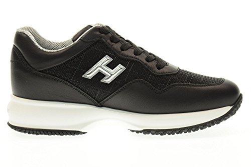 HOGAN scarpe donna sneakers basse HXW00N0W661FQJ0353 INTERACTIVE SNEAKERS Nero