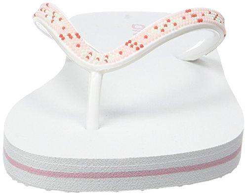 O'Neill Fg Moya Strap Flip Flops, Chaussures de Plage et Piscine Fille Blanc (Sea Pink)