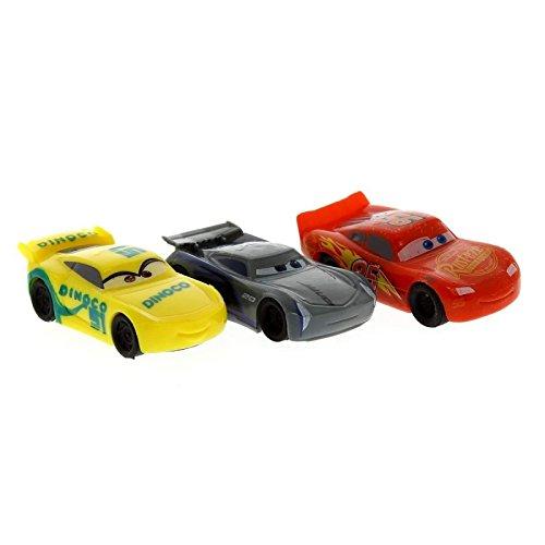 Tres Gomas de Borrar Cars 3