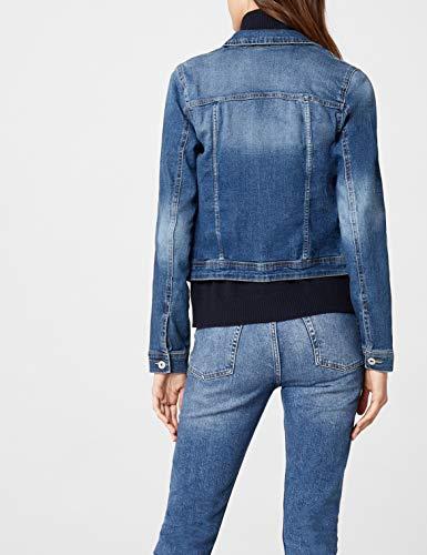 ONLY Damen Jeansjacke Jacke 15114138, Gr. 38, Blau (Medium Blue Denim) - 5