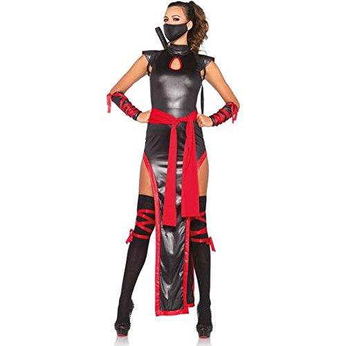 WEIBLICHE LEG AVENUE COSTUME (Kostüm Ninja Eine Weibliche)