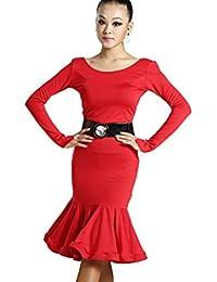 motony-Vestito per Ballerina di Danze Latino Americane Costume da Ballerina  di Danze Latino Americane 9606ce42764