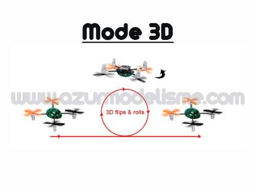 Walkera QR Ladybird V2 Micro Quadcopter Quadrocopter RTF mit Devo4 2,4 Ghz mit Zubehör von notebook-as® - 2
