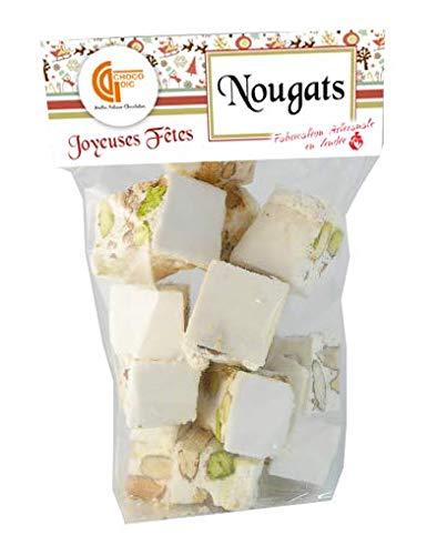 SACHET 150G NOUGAT ARTISANAL - CHOCOLAT DE NOEL - CADEAU NOEL