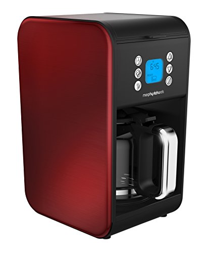 Morphy Richards 162009 Pour Over Kaffeemaschine, rot