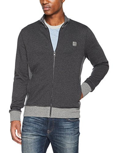 BOSS Casual Herren Sweatshirt Zooms Schwarz (Black 002)