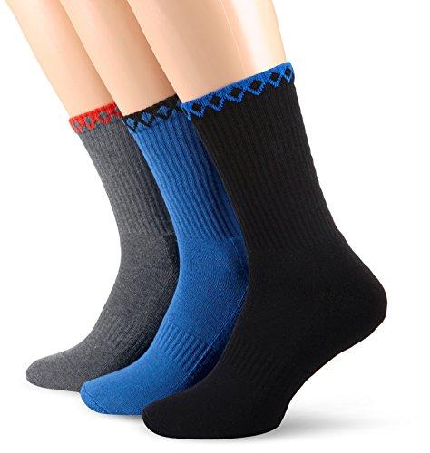 Hummel-Calzini Fire Knight 3Pack Socks, Unisex, Socken Fire Knight 3 Pack Socks, Multi colore, 10