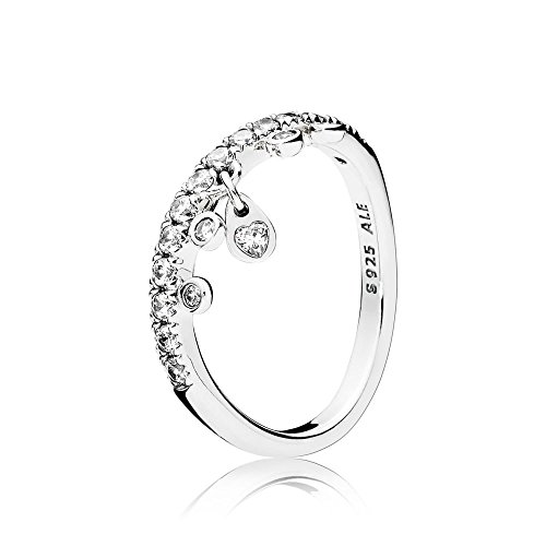 Pandora Damen-Ringe 925 Sterlingsilber zirkonia \'- Ringgröße 54 (17.2) 197108CZ-54