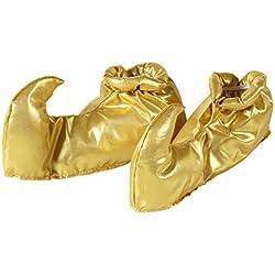 WIDMANN wid9563s–Cubrezapatillas de ciclismo de disfraz árabe, multicolor, dorado, talla única