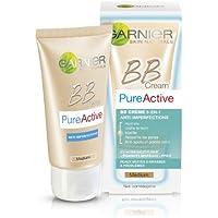 Garnier Pure - Activo - BB Cream Mediano - 5-en-1 Anti-