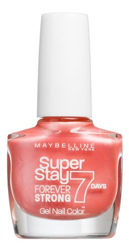 Maybelline New York Forever Strong Finish Nagellack  401 PEACH