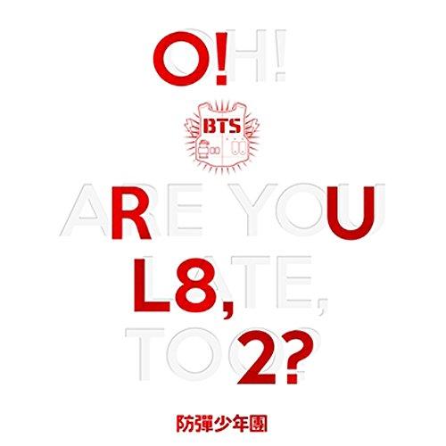 BTS KPOP Bangtanboys 1st mini Album [O!RUL8,2?] CD + Folded Poster + Fotobuch + Fotokarte
