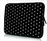 DCCN Laptophülle Neopren Notebook Sleeve mit Griff für 15 Zoll